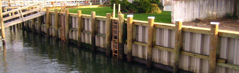 Marine Construction Structures: Retaining Walls And ...