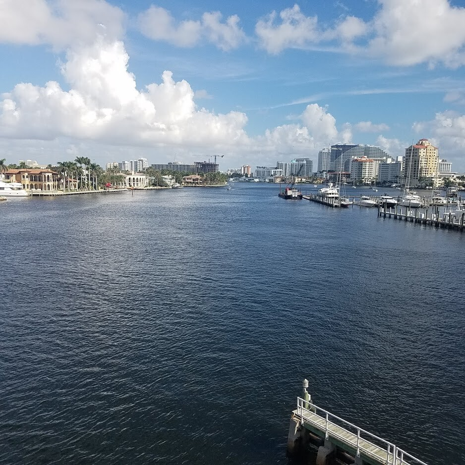 Fort Lauderdale waterfront on the Intracoastal.
