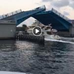 Boat speeding in no-wake zone in Fort Lauderdale causes damage to docked vessels
