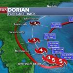 Hurricane Dorian and it's effects on waterfront homes in Florida