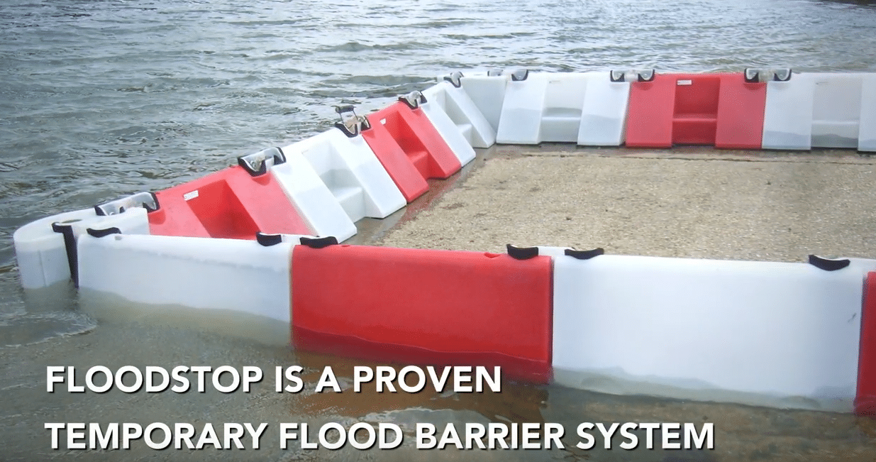 FloodStop temporary barriers