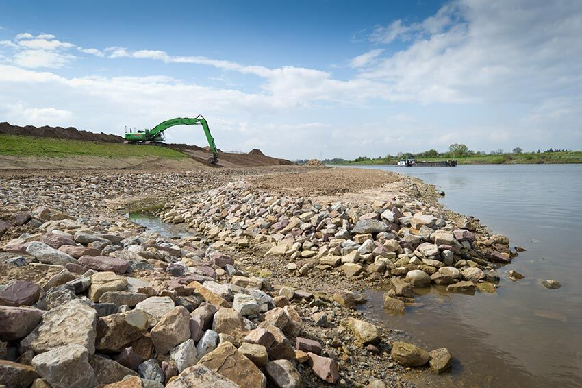 Revetment definitions: it's uses and advantages