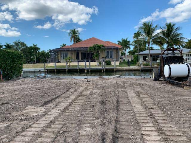 Greg Orick Marine COnstruction project in Naples, FL