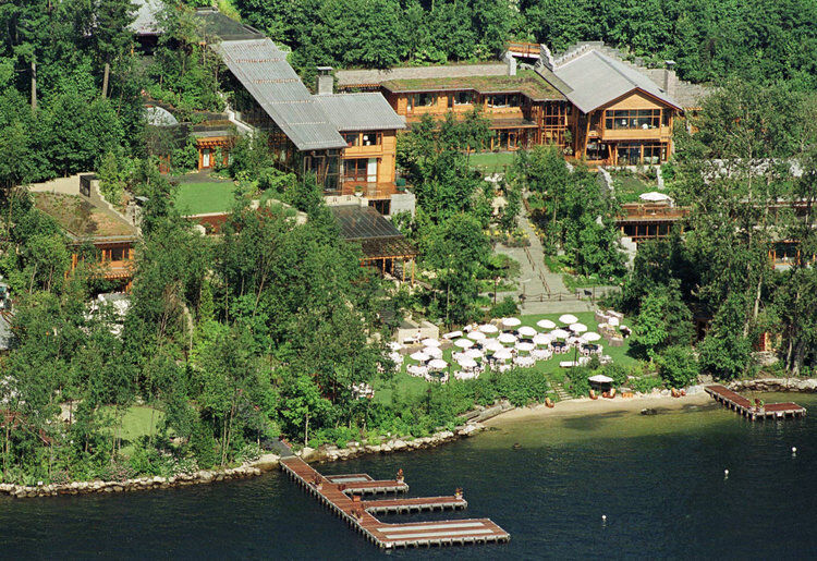 Microsoft's Bill Gates waterfront house.
