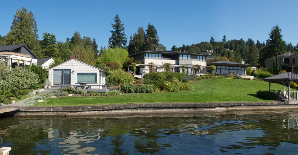 Charming waterfront house. Seattle Times.