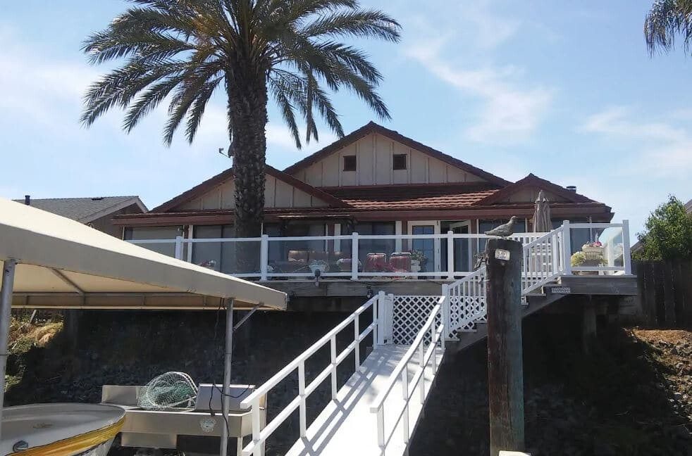 AirBNB on Discovery Bay, California