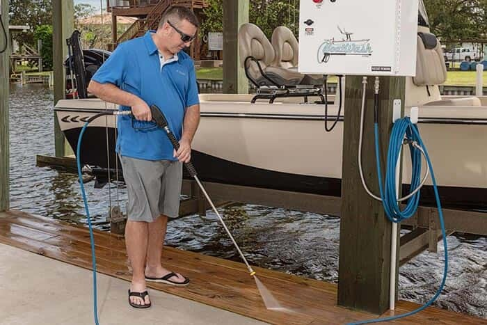 BoatWash Pressure Washer.