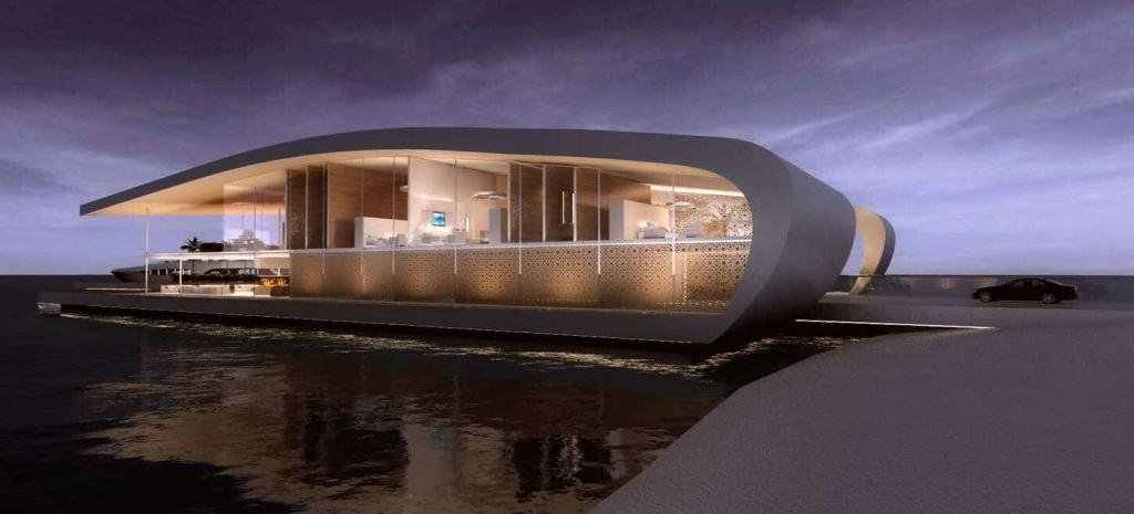 Floating Hotel by Admares