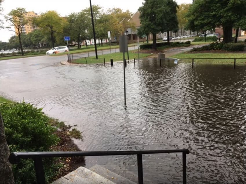 Church in Norfolk, VA, hired the services of Coastal Risk to evaluate their adaptation to climate risks.