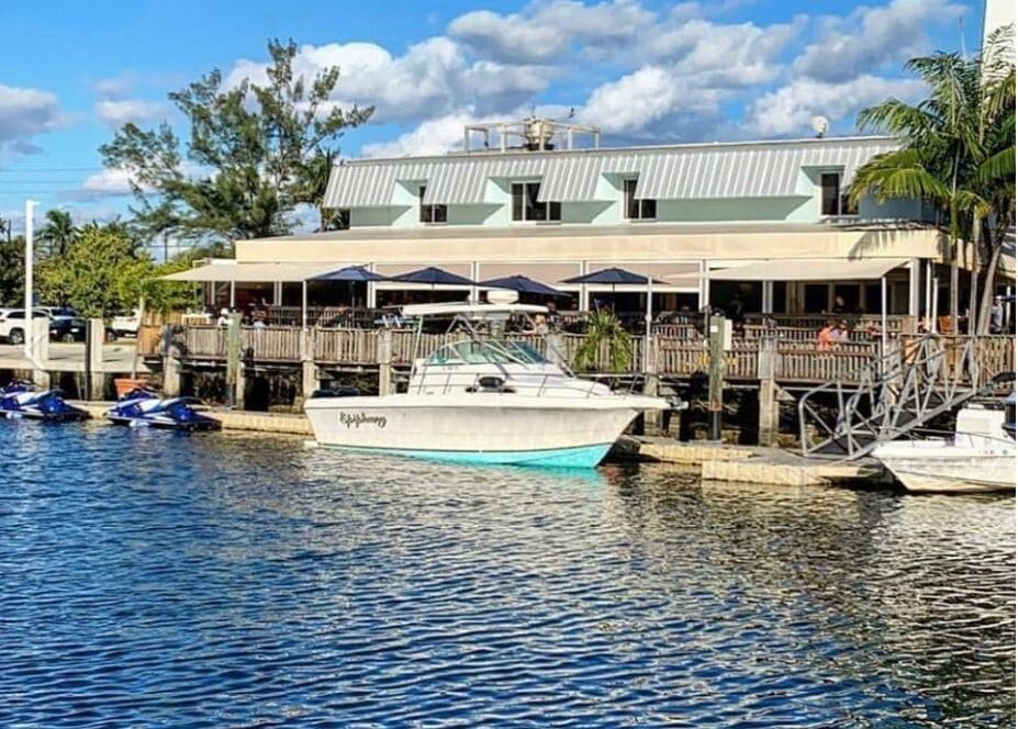 Coconuts boat dock and waterfront dining