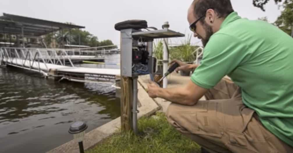 Electric failures on your dock can cause drowning.