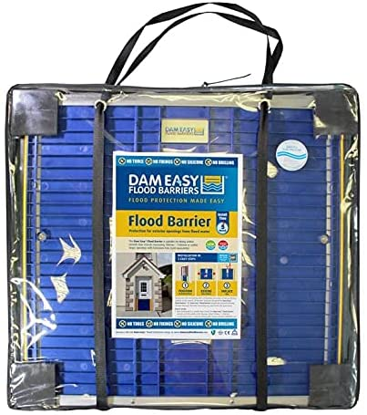 Dam Easy-Door Flood Barrier come with a handy carrying bag.