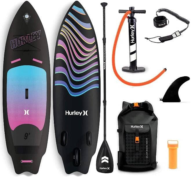 Hurley inflatable sup surf board.