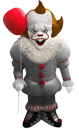Pennywise Inflatable External Halloween Decoration.