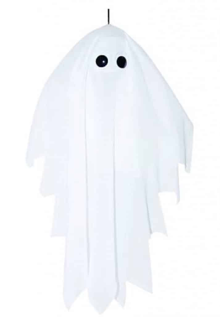 Shaking ghost inflatable halloween decoration.